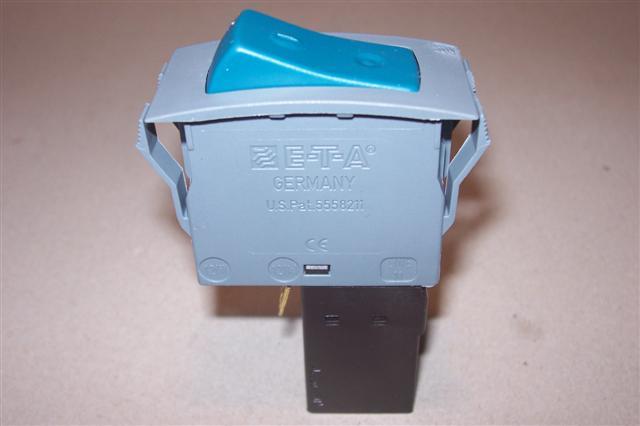 E-T-A Schalter mit Wippe