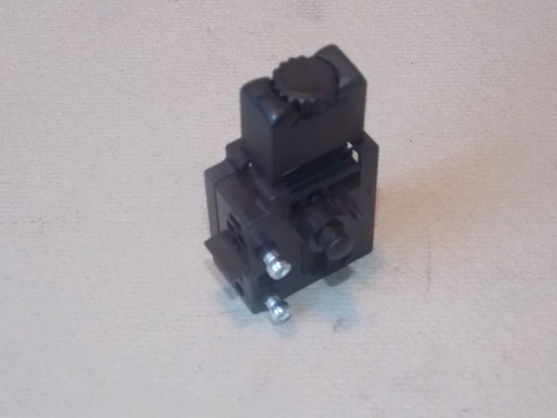 Einpoliger Schalter, Drehzahlsteller, Bohrmaschine, CAPAX