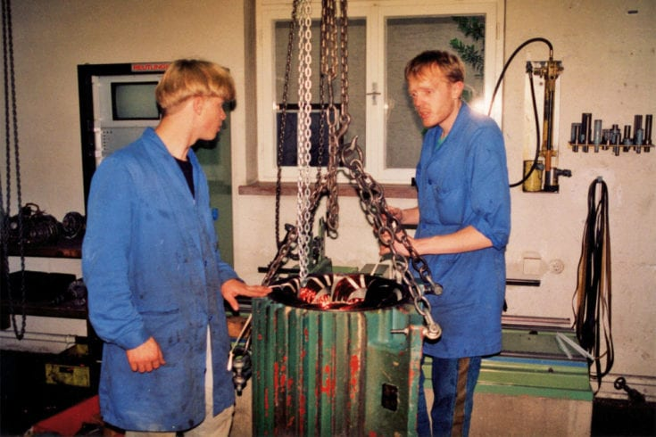 Unternehmenschronik - Markus Kaserer Elektromaschinenbau