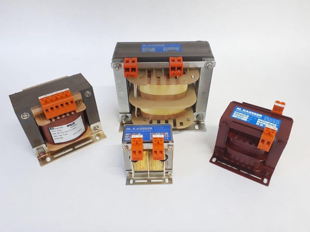 Transformatoren - Elektromaschinenbau Kaserer
